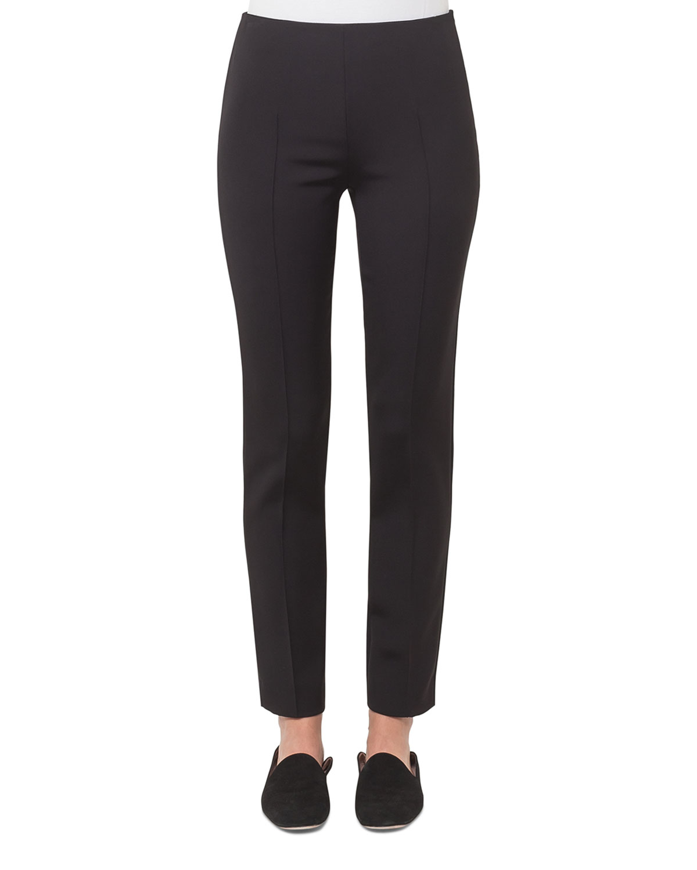 Melissa Techno Cotton Pants, Black