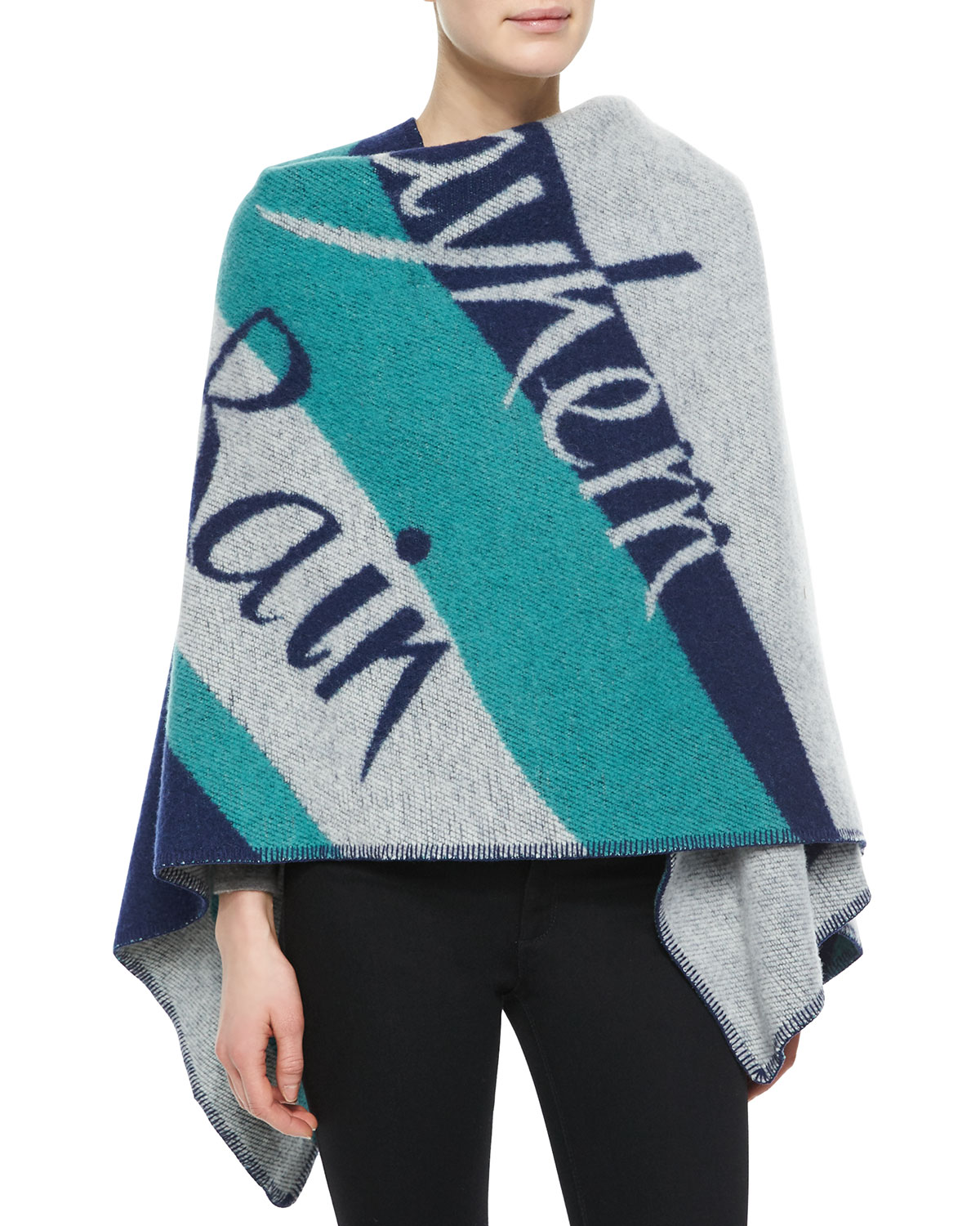 British Rain Cape, Teal