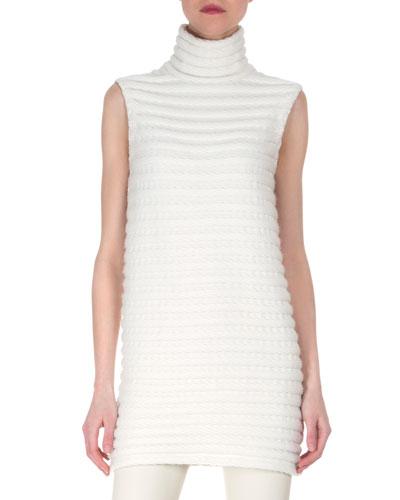 Cashmere Tubular Knit Tunic/Dress