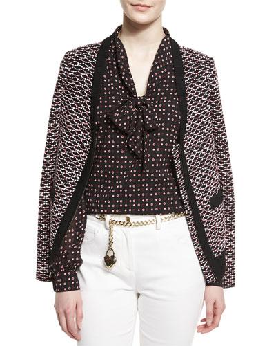 Regatta Knit Zip Jacket, Caviar Multi