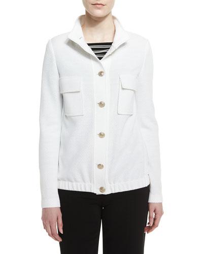 Trellis Knit Metro Field Jacket