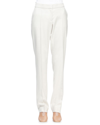 Jasmie Slim-Leg Suit Pants, Mist
