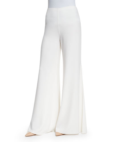 High Waist Wide Leg Pants | Neiman Marcus