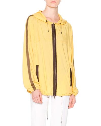Packable Lightweight Anorak Coat, Sun