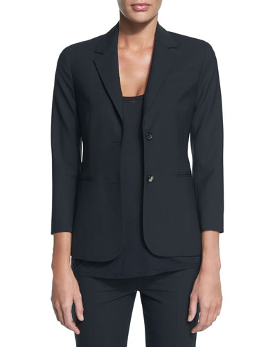New Schoolboy Two-Button Blazer