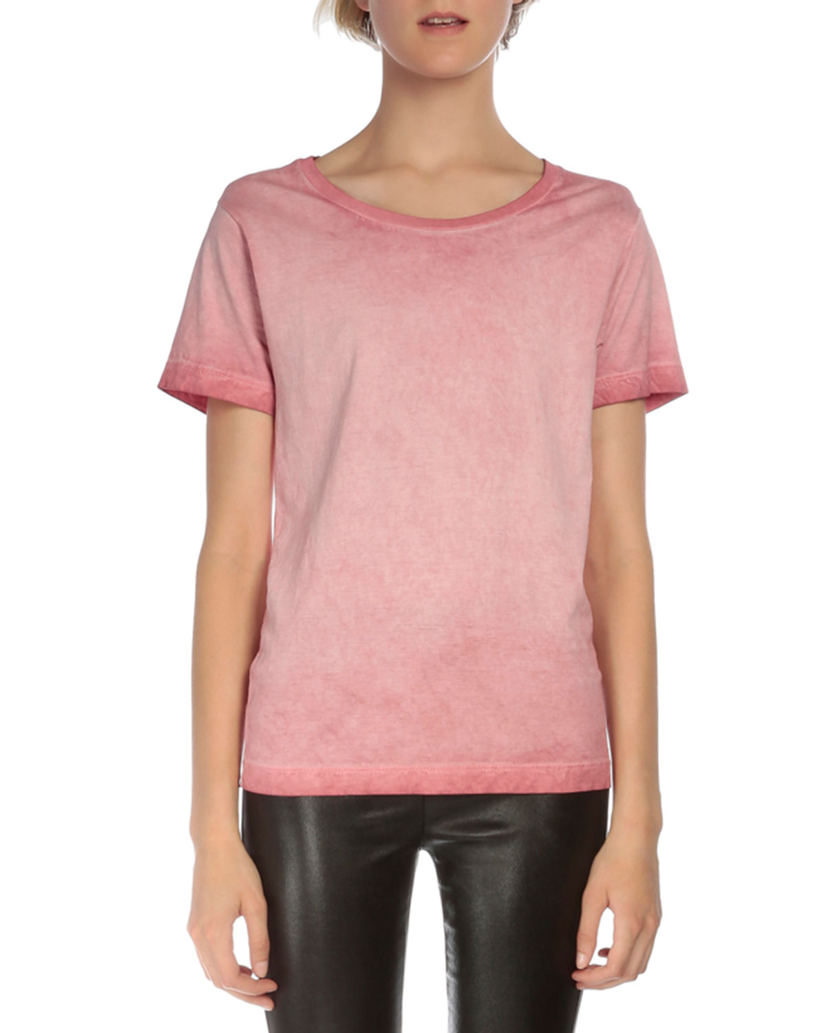 Short-Sleeve Tie-Dye Degrade T-Shirt, Pink