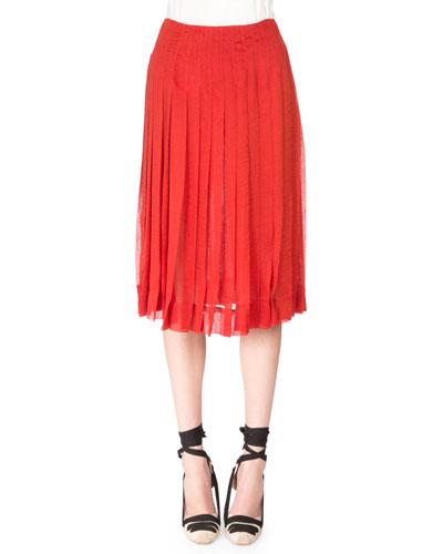 Zurina Pleated Skirt, Windsor