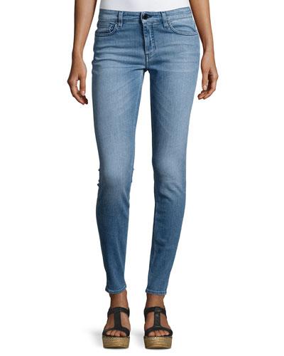 Super Skinny Ankle Jeans, Bo Brook Wash