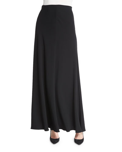 Frol A-Line Maxi Skirt, Black