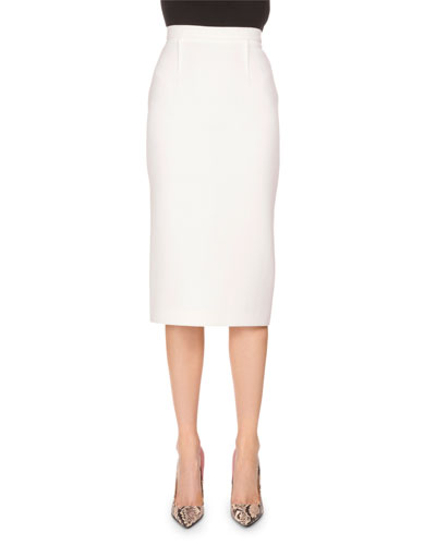 Fitted Pencil Skirt | Neiman Marcus
