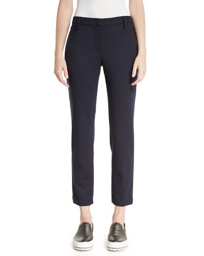 Opportunity Package Cropped Pants, Navy