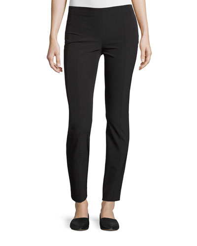 Cosso Skinny Cropped Pants, Navy