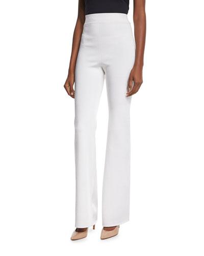 High-Waist Wide-Leg Pants, Soft White