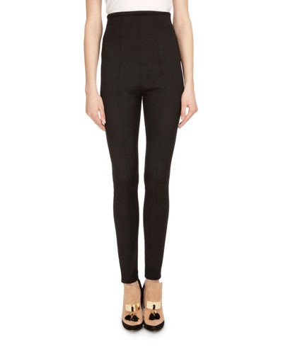 Black Fitted Pants | Neiman Marcus