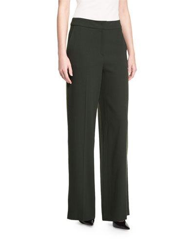 Tems Wide-Leg Pants, Fir