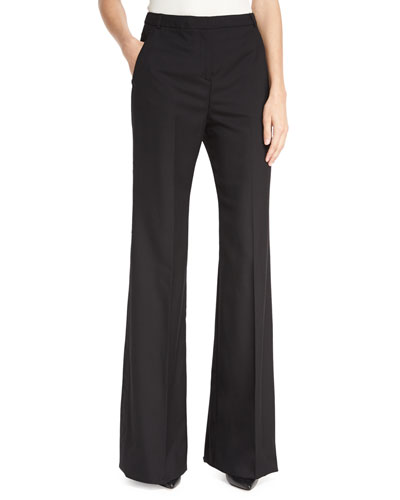 striped straight-leg trousers - Blue See By Chloé nrfVrmuYC