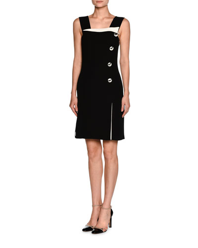 Square Neckline Dress  Neiman Marcus