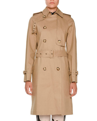 Macintosh Cotton Trenchcoat, Fawn