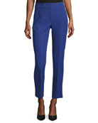 Techno Cady Ankle Pants, Blue Violet