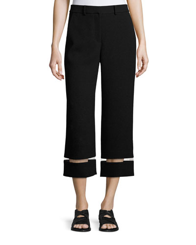 Black Wide Leg Pants | Neiman Marcus