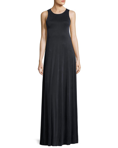 Avel Sleeveless Maxi Dress, Asphalt