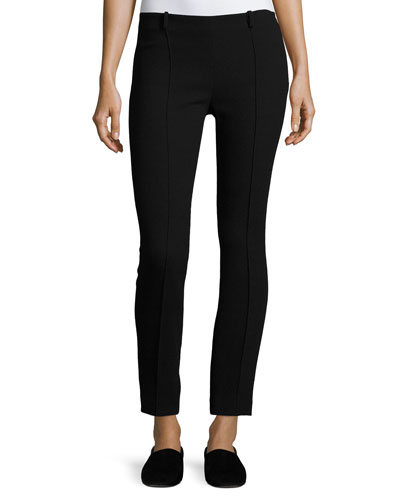 Losso Skinny Wool Pants, Black