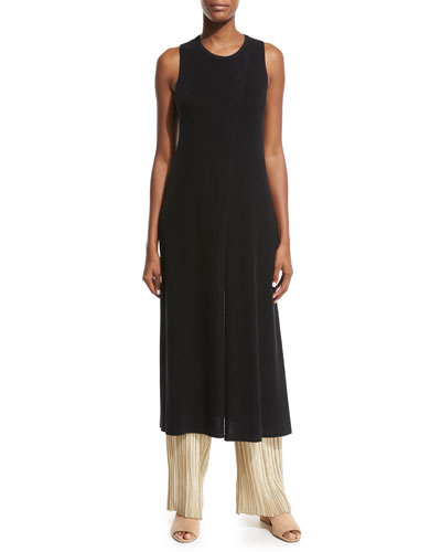 Nerin Crossover Long Tunic, Black