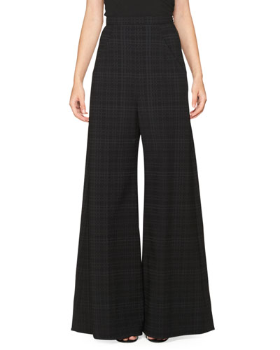 Wide Leg Wool Pants | Neiman Marcus