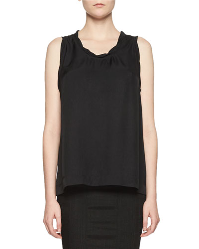 Twisted Scoop-Neck Tank