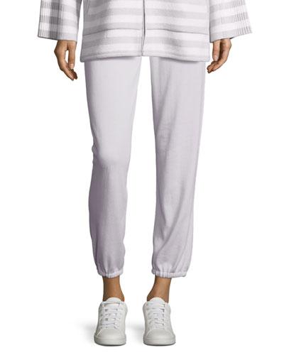 Drawstring Cashmere Lounge Pants