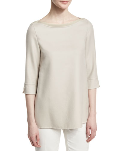 Extralight Cashmere-Silk Sweater