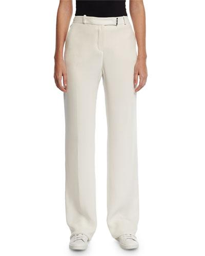 Lawrence Matte Silk Pants