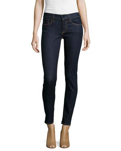 400 Matchstick Mid-Rise Jeans, Indigo Rinse
