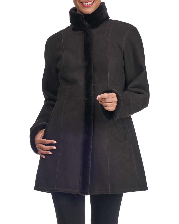 Sheep Shearling Stroller Jacket