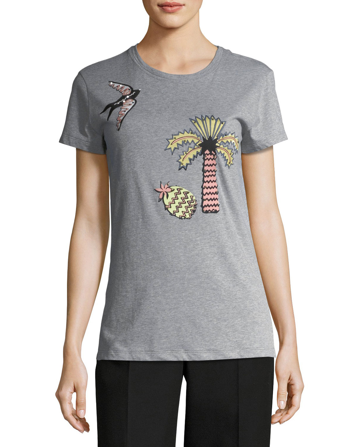 Garden of Earthly Delights Tropical T-Shirt