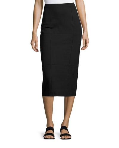 Mattie Pencil Skirt, Black