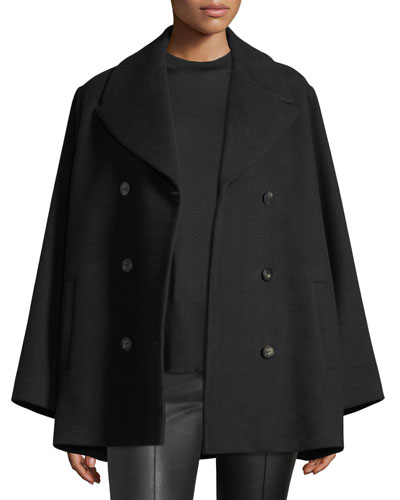 Donla Double-Breasted Wool Jacket