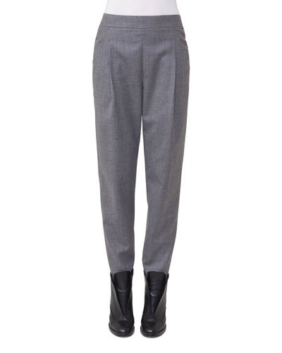 Fiola Wool Slouchy Pants
