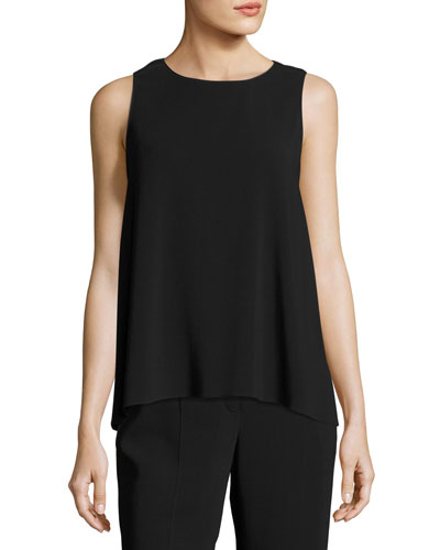 Mikita Cady Sleeveless Top, Black