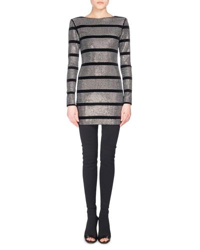Balmain Black Dress Neiman Marcus