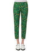 Frances Buttercup-Print Pants, Forest