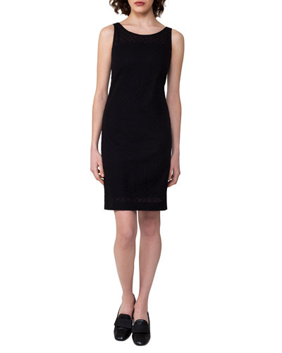 Cotton Voile Sheath Dress