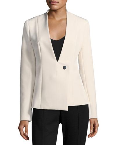 Brianne Jacket w/ Asymmetric Closure