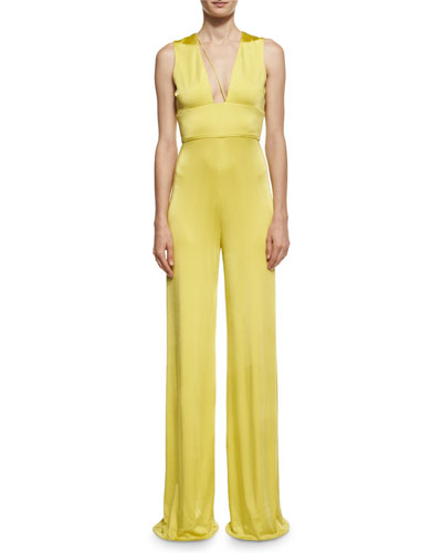 Paloma Strappy Wide-Leg Jumpsuit