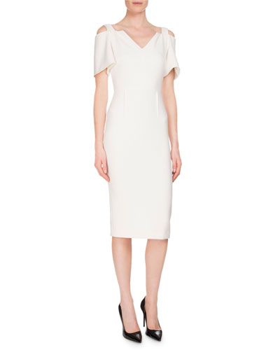 Awalton Cold-Shoulder Sheath Dress