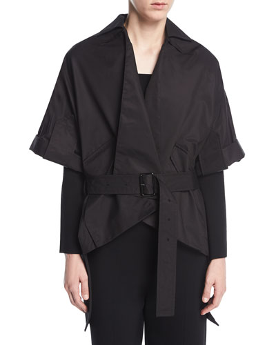 Albert Belted Wrap Jacket