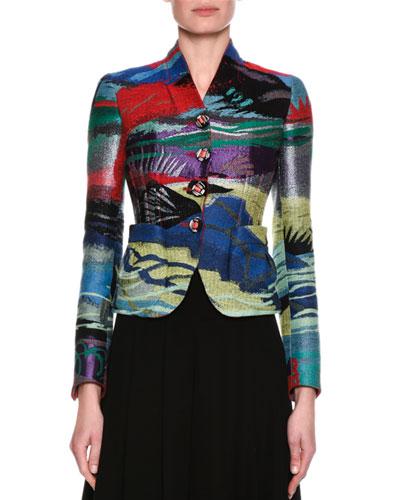 Peruvian Jacquard Jacket, Multicolor