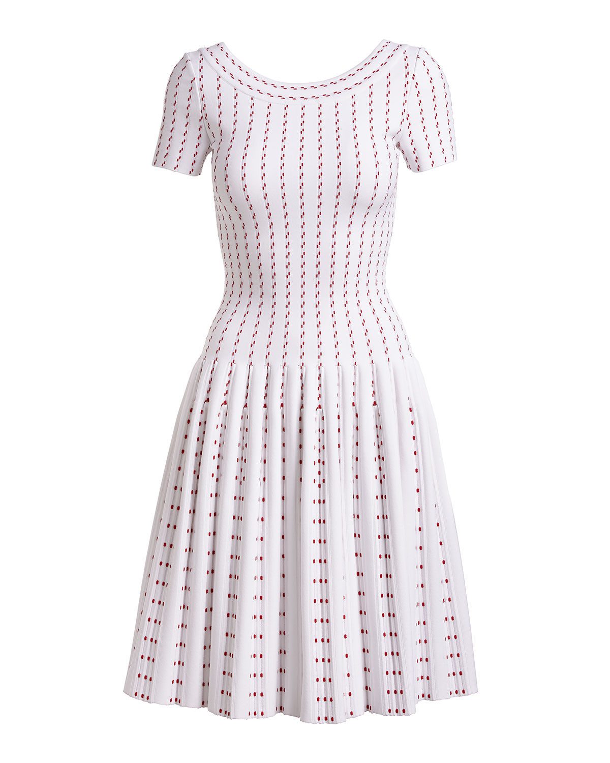 Dotted Stripes Dress