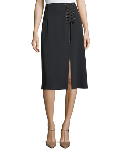 Aline mid length skirt latti