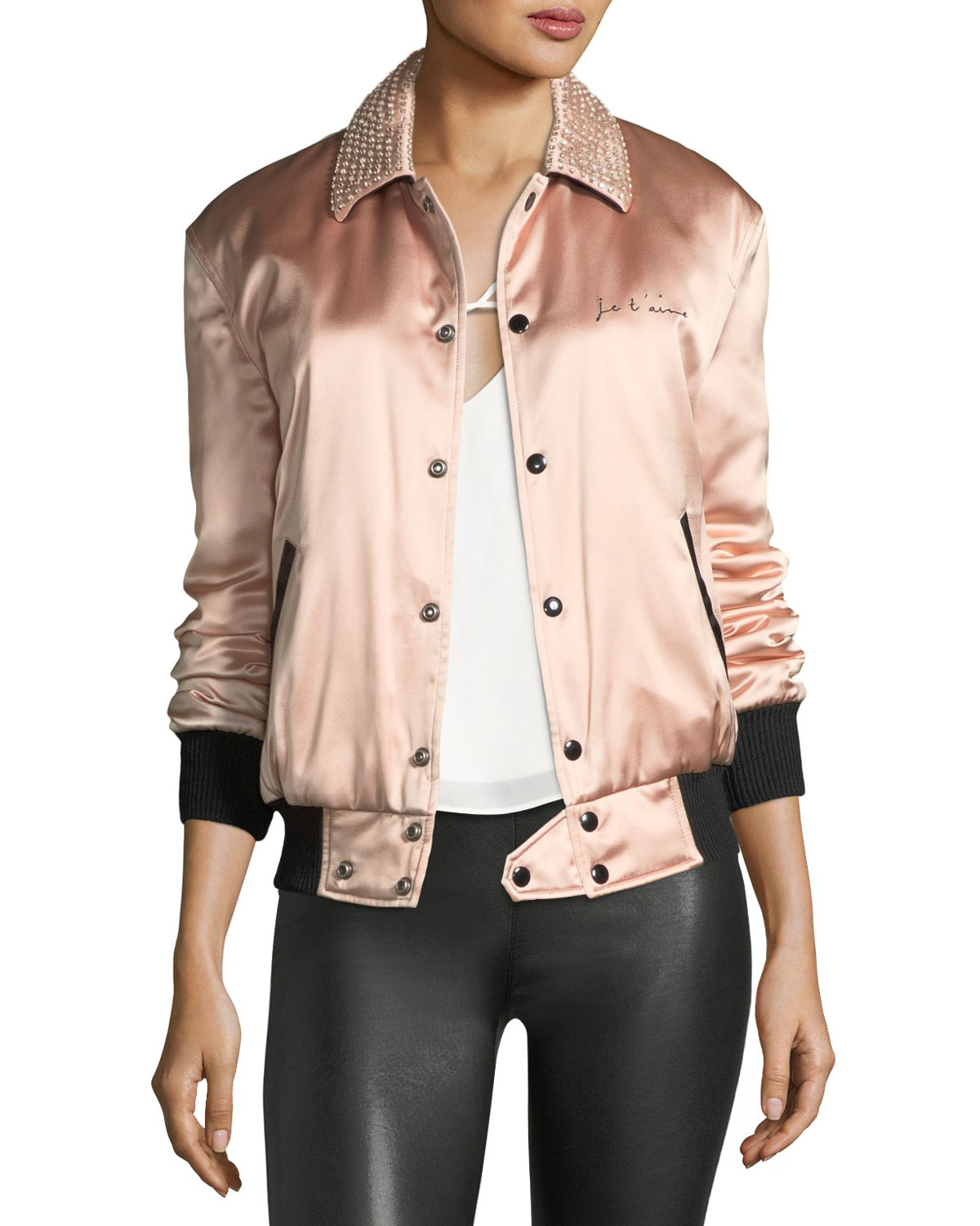 Je T'Aime Satin Teddy Jacket